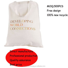 2015 manufacture durable cotton shopping bag