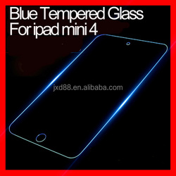 tempered glass protective film for ipad mini 2 3 4 air 9H 0.3mm 2.5D Tempered Glass Screen Protector Bule light for ipad mini4