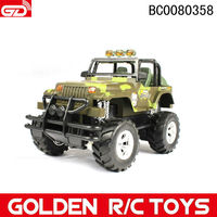 Children Off-road jeep rc car 355A 1:18 4-CH jeep children electric car toy with light