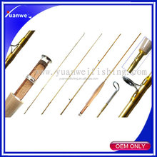 Cheap fishing tackle 4 section Carbon material Fly Fishing Rod Fishing Rod Blanks