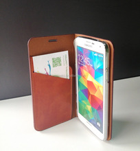Typical Solid Good PU Leather Mobile Phone Case for Samsung Galaxy S5