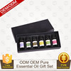 OEM/ODM Pure Essential oils set Aromatherapy Gift Set 6 Set pure oil /10ml private label natureli organic oils