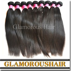 Guangzhou No chemical processed 100% virgin raw unprocessed brazilian hair in mozambique