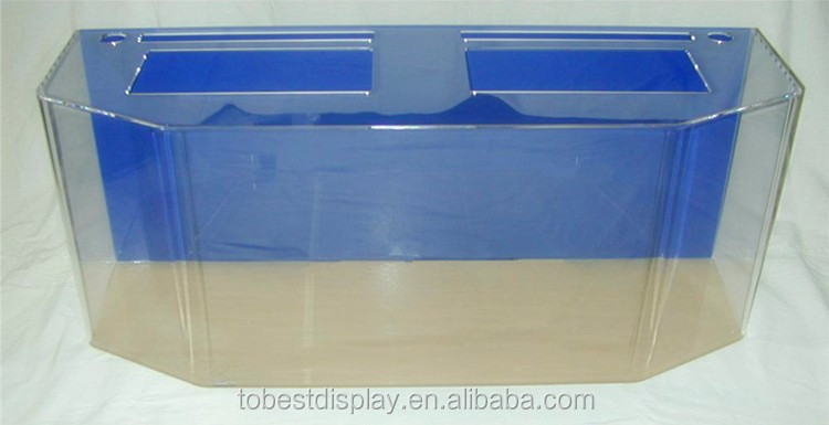 Custom acrylic aquarium fish tank wholesale aquarium tanks for Acrylic vs glass fish tank