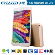 8 inch octa core dual sim dual camera 3G android tablet
