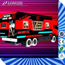 Thrilling Action Ride Big Return 5D 7D 8D 9D Theater Equipment cinema with the guns