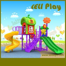 LL-O02 Newly Attractive Backyard Kids Outdoor Playground Items