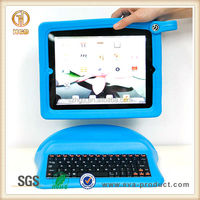 Kids Anti-slip Shockproof EVA tablet pc cover with keyboard