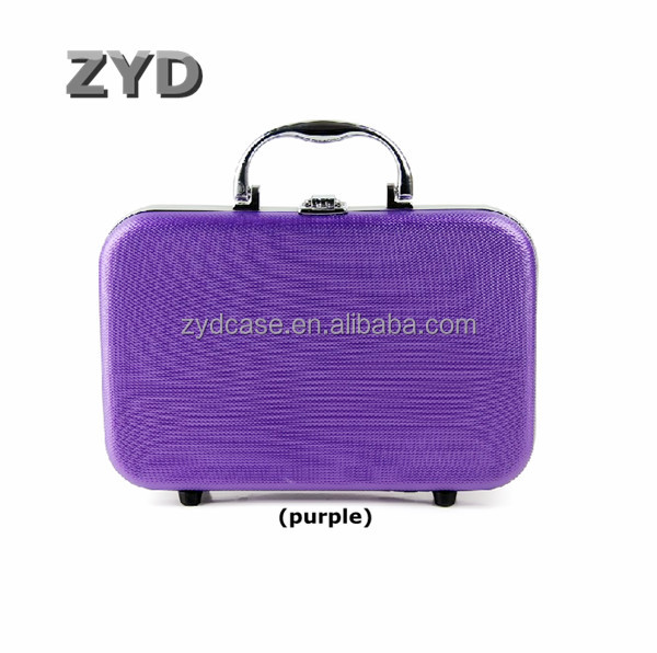 Fashionable Colorful Portable Aluminum Laptop Bag ABS Briefcase With Handle ZYD-HZMlc011