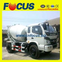 Jefe 6m3 forland camión mezclador de venta