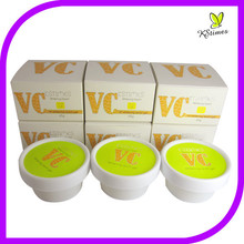 Natural de vitamina C brillo de la piel anti freckly manchas eliminación crema blanqueadora para mancha oscura