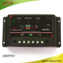 12V 5A 10A 20A PWM lead acid battery solar system o with USB solar home charge controller
