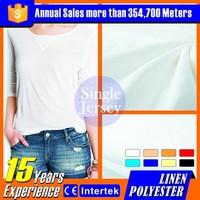 2016 Hemp self spandex knitted fabric wholesale designer clothing