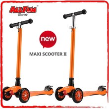 Childrens Push Tilt Lean T-Bar Uber Maxi 21st Scooter For Ages 6-12 years
