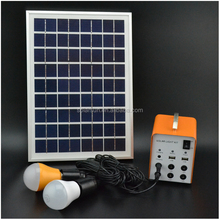 outdoor solar led lighting system with mp3 player