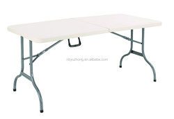 5fF folding table Plastic Material and Yes Folded cheap plastic folding table