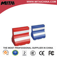 560mm Height Red HDPE Water Barrier