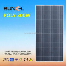 poly 6 inch solar cells for solar panels 300W