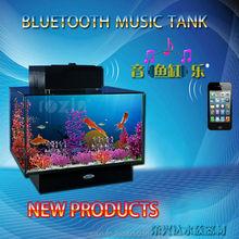 glass mini usb/bluetooth tank aquarium for sale