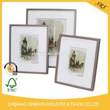 pintura en aerosol a mano de madera marco de fotos vintage marco de fotos de accesorios para el hogar