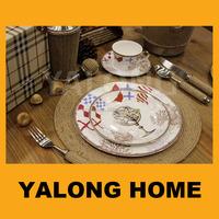 Wholesale Used Restaurant Dinnerware Bone China Porcelain Dinnerware