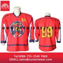 cheap customized hockey jersey sublimated hot sale