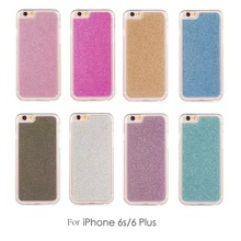 Matte Soft Back Case Cover for Apple iPhone 6S Bling Bling