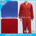 De bambú textiles de poliéster impresa/tela de algodón tela tejida