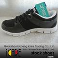 Negro Calzados Zapatos Deportivos de Mejor Marca para Hombres