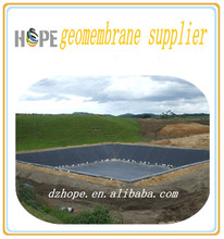 waterproof liner 2.5mm HDPE geomembrane of cheap price for pond and lake dam