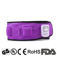 electronic heat Vibration Slimming Massage Belt losing weight keeping fit massage belt