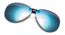 New polarized fashion sports clip on sunglasses