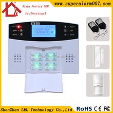 Cheap Burglar GSM Alarms Security Wireless Keypad Home Alarm L&L-819