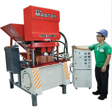 Eco 7000 clay interlocking brick machine cheap machines to make money