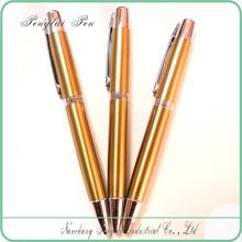 Fancy Leaf Shape METAL Eco Friendly Finger Ballpoint Pen