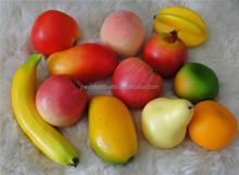 2015 customize lifelike faux apple fruit fake food for kitchen decor
