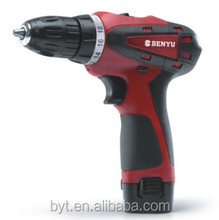 Cordless drill 12V lithiumion with reverse function