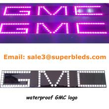 DC12V High quality 96SMD color changing led symbol light for GMC car