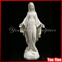de mármol la figura de nuestra señora la virgen maría la decoración