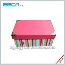 Fashion Paper Storage Box/Paper Packaging Box with High Capacity Wholesale