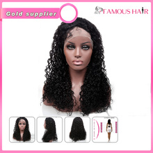 5A Grade wholesale cheap malaysian virgin hair human hair full lace wig