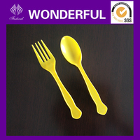 PP disposable plastic kids cutlery set