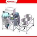Mezclador de alimentos industrial, mezclador continuo, industrial de alimentos y mezclador de la licuadora