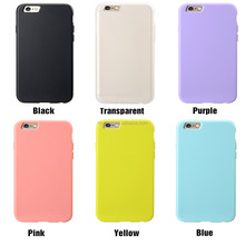 Soft-touched mobile phone cover, classic hot sale TPU case cover for Apple iPhone 6 Air 4.7""