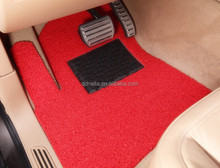 100% PVC Coil Car Mats with spike backing