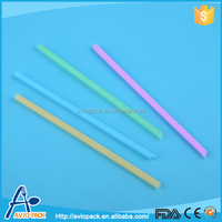 Wholesale non toxic plastic PP baby bottle drinking straw