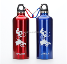 500/600/750ml 18/8 stainless steel thermal vacuum insulated double wall water bottle/sports bottle/drink bottle