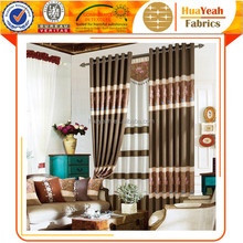 New pattern spliced ready-made window curtains design