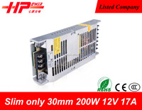 Factory price ultra thin/slim constant voltage single output 5v 40ampere 200w power one power supplies