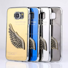 Good quality wing metal shell case unbreakable phone cases mobile phone metal shell